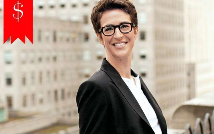 Rachel Maddow has a net worth and salary that go hand in hand with her career