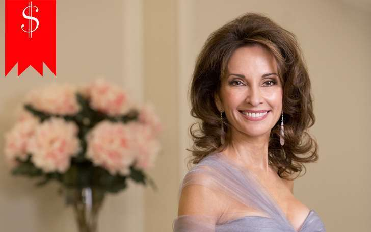 With a net worth of $45 million and a high salary, Susan Lucci one of the richest actress