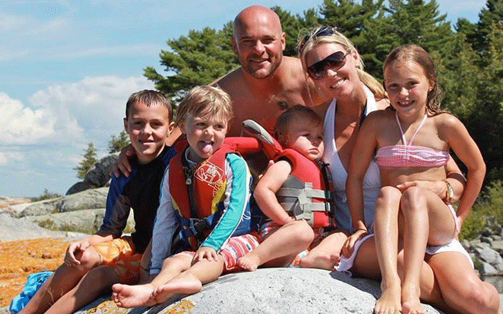 HGTV's Bryan Baeumler married to wife Sarah since 2004 with 4 kids. No divorce