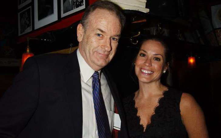 Maureen E. McPhilmy and her former husband Bill O'Reilly