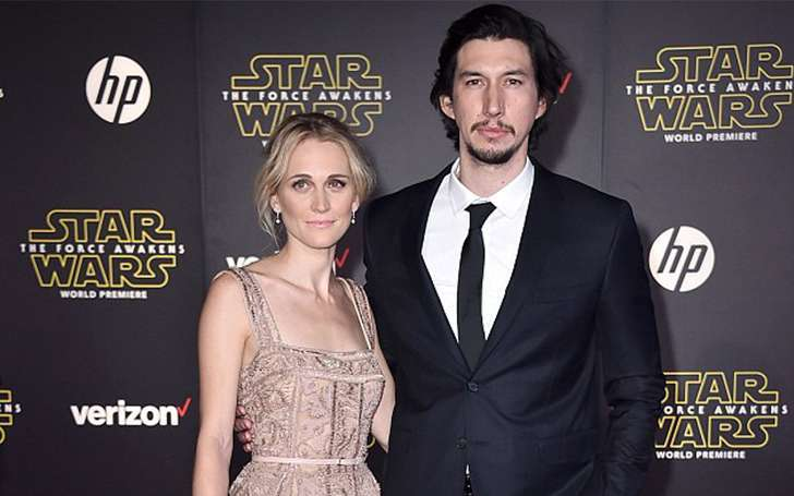 Adam Driver married wife Joanne Tucker. Know their Love story and if they have children