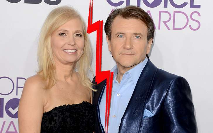 Robert Herjavec reason for divorcing his wife Diane Plese might be Kym Johnson his dancing partner