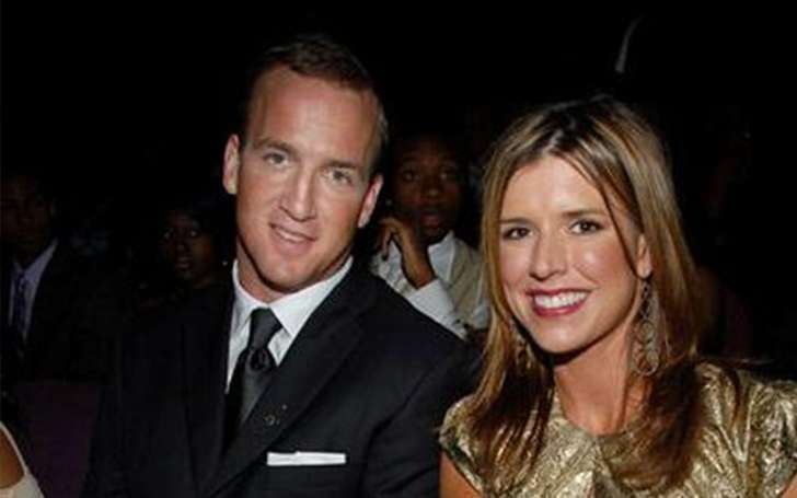 Peyton Manning is married to Ashley Thompson. They have 2 children. See Photos