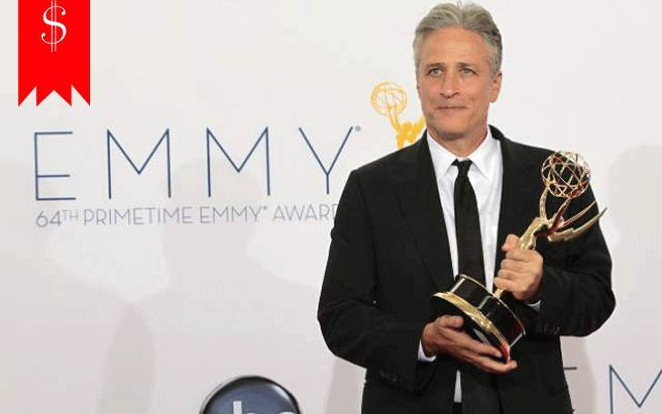 American Comedian & Journalist Jon Stewart's Net Worth is  $80M. Know His Awards & Career