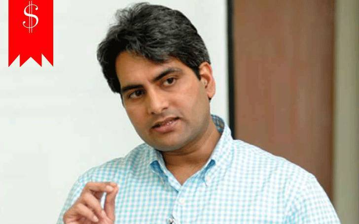 News editor and Business Person Sudhir Chaudhary. Know about his Salary  and net worth