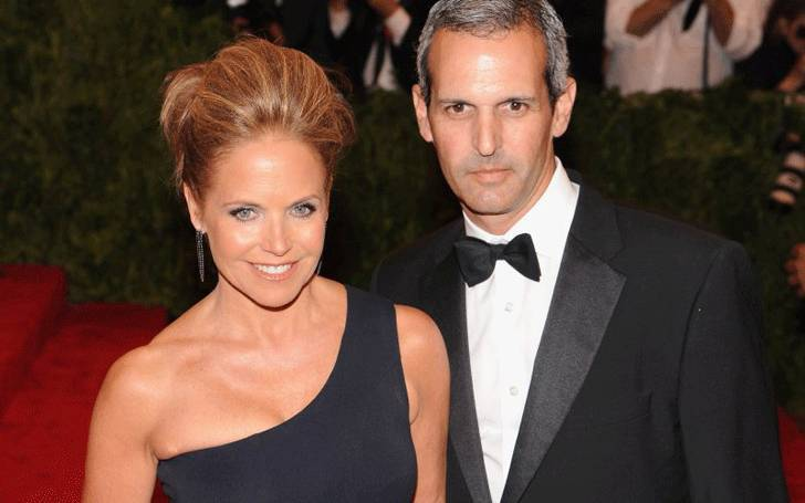 American journalist Katie Couric married with John Molner after death of Jay Monahan