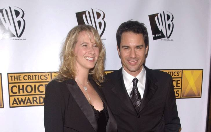 Eric McCormack played a gay after being married with his wife Janet Holden