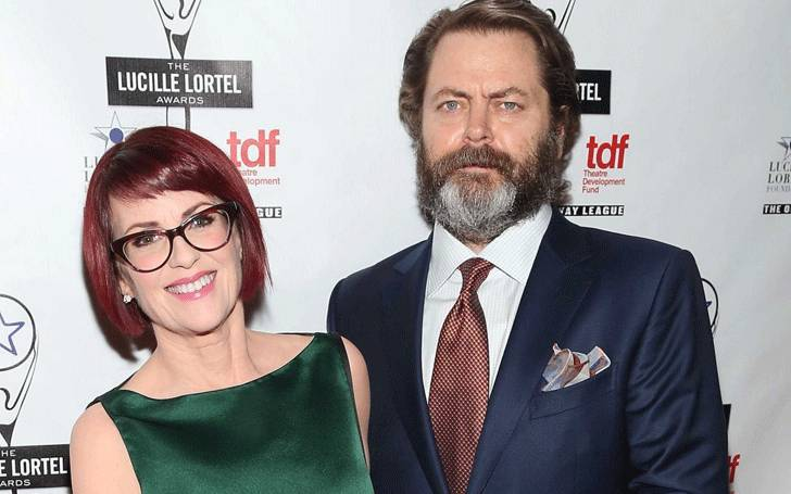Nick Offerman Married his Wife Megan Mullally in 2003: No Plans of Children & Divorce