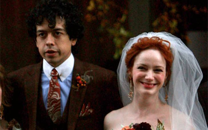 Christina Hendricks Married Geoffrey Arend in 2009 after 3 ...