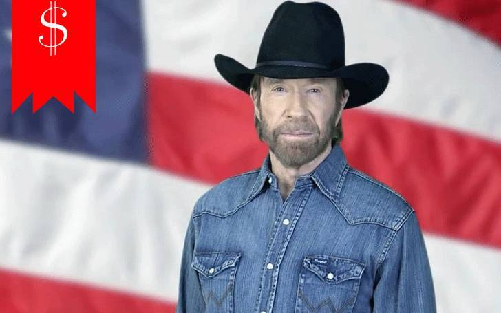 How much does Chuck Norris  earn in a year? Know his net worth.