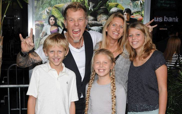 James Hetfield and his Wife Francesca Hetfield married in 1997; Know about their children