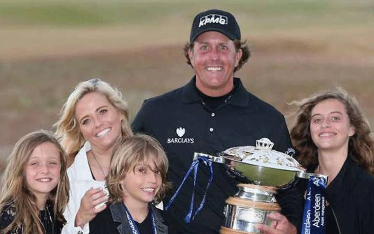 Phil Mickelson Married Amy Mickelson in 1996. Know about their Married life and children
