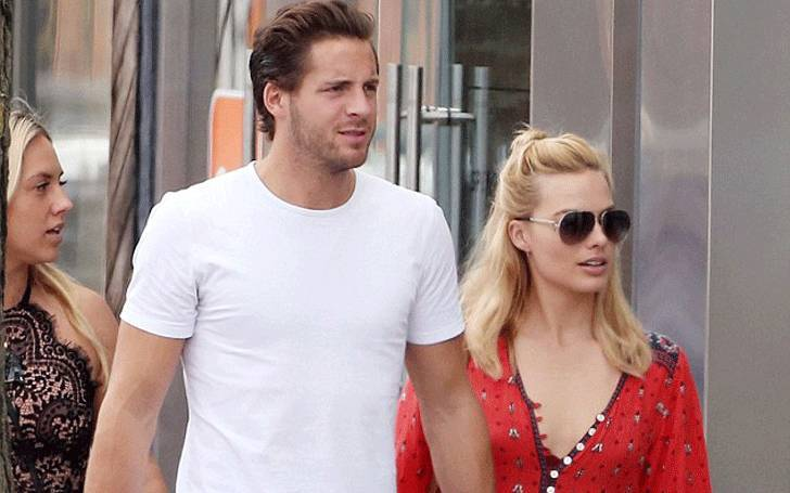 Actress Margot Robbie is in relationship with her partner Tom Ackerley, Is She Married?