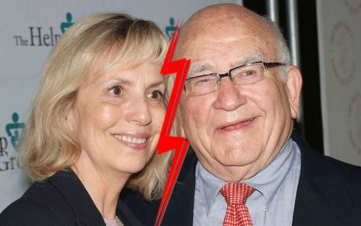 Actor Ed Asner married and divorce both Nancy Sykes and Cindy Gilmore