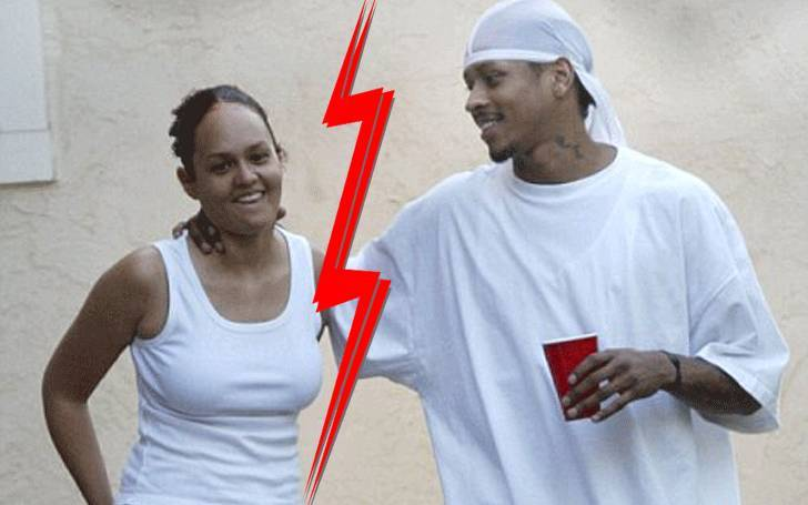 Allen Iverson Married Ex-Wife Tawanna Turner and divorced ...