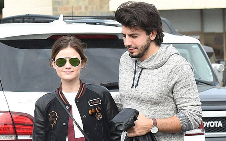 Dating lucy hale