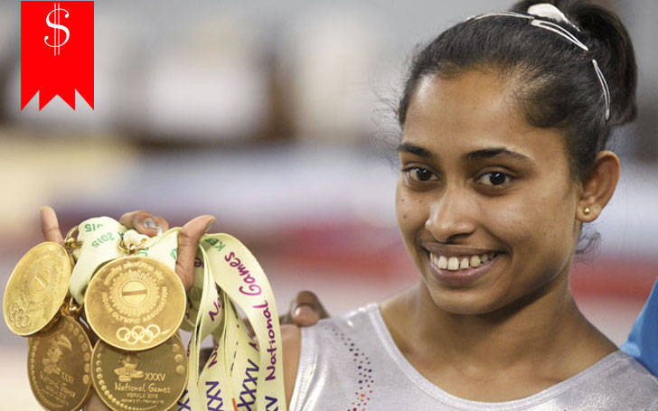 How much is Dipa Karmakar net worth? Know about her career and awards
