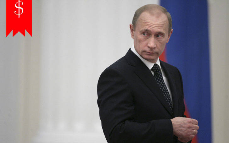 How rich is President Vladimir Putin? Find about his career.