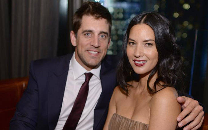 Aaron Rodgers is in relationship with his girlfriend Olivia Munn. Are they planning to get married?
