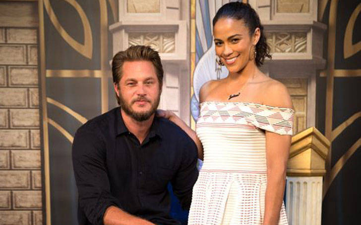 Australian actor Travis Fimmel is in relationship with Paula Patton. Is he getting married?
