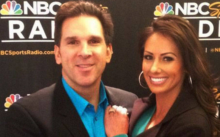Holly Sonders with husband Erik Kuselias