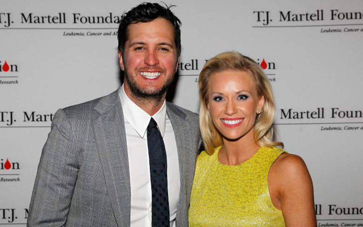 Luke Bryan has two sons from his marriage with wife Caroline Boyer. See facts and photos