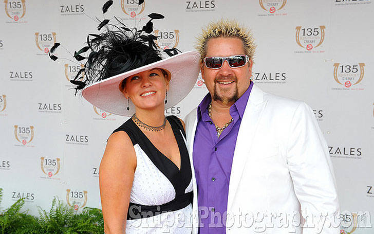 guy fieri married lori fieri in 1995 know about his. Black Bedroom Furniture Sets. Home Design Ideas