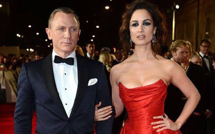 Berenice Marlohe and Daniel Craig relationship. They might be dating