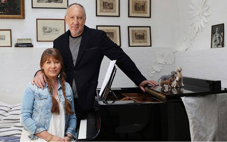 Pete Townshend divorced Karen Astley; his recent partner longtime girlfriend is Rachel Fuller