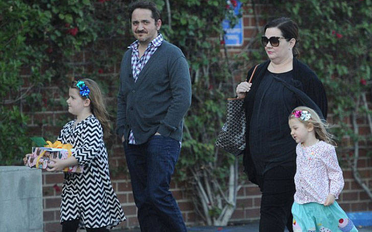 Melissa McCarthy Married Ben Falcone and living as husband and wife with two daughters
