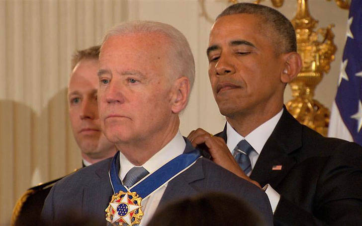 Obama surprises Vice President of the United States Joe Biden with Presidential Medal of Freedom