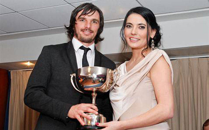 Natalie Sawyer and Jonathan Douglas gives dating vibes after divorcing Sam Matterface