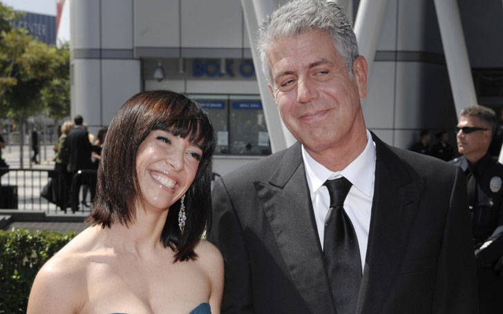 Ottavia Busia splits from her husband Anthony Bourdain after 9 long years of marriage