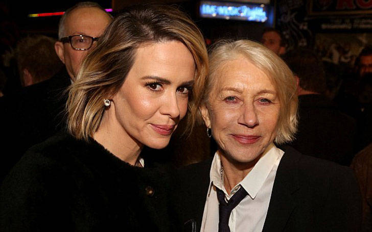 Holland Taylor passionately shows love with her partner Sarah Paulson