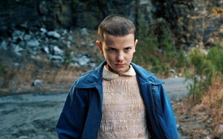 Millie Bobby Brown age 12 gets first film role in Godzilla Movie