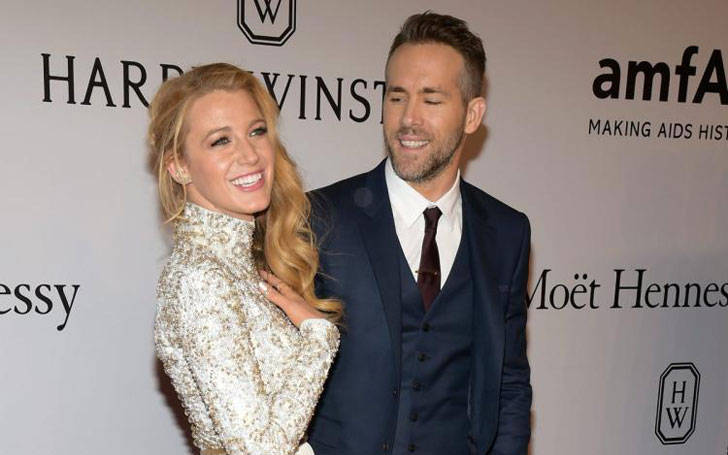 Ryan Reynolds Married Blake Lively in 2012 and living happily with their children