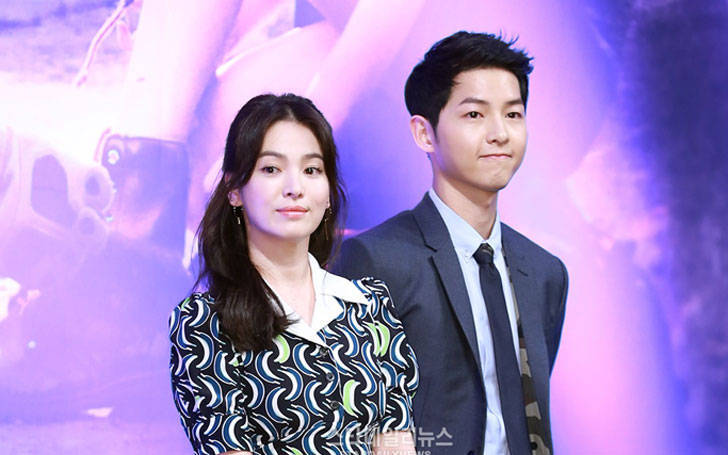 Song Hye Kyo Confirms her relationship and Admits Dating her co-star Song Joong-ki