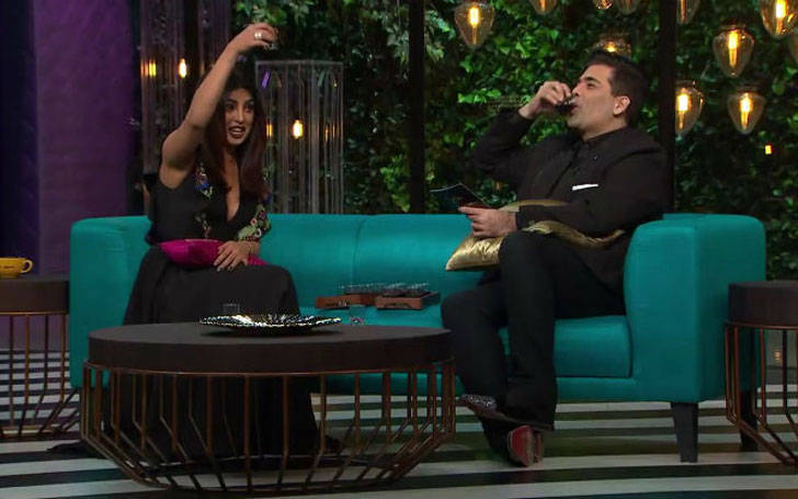 Quantico star Priyanka chopra reveal secrets in Koffee with Karan season 5