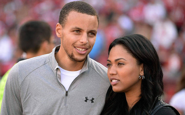 Stephen Curry married to Author Ayesha Curry and are now proud parents of two daughters