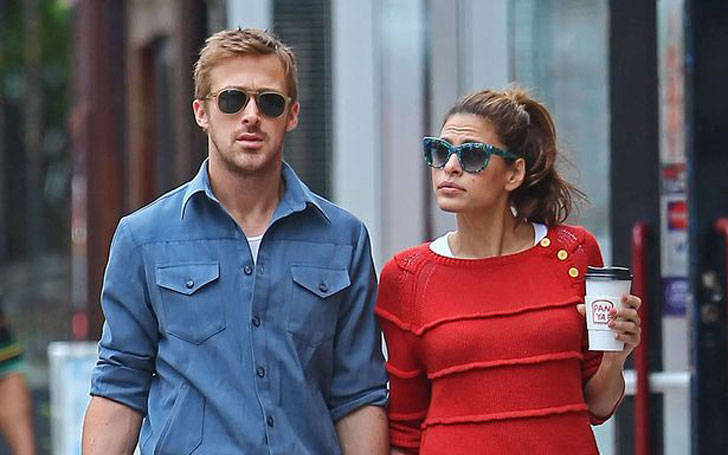 Parents of two children, Ryan Gosling and girlfriend Eva Mendes living together for five years.