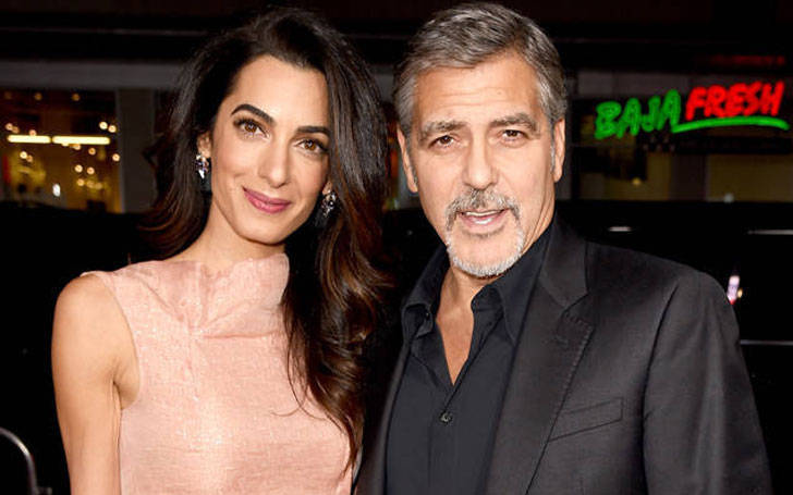 American Actor George Clooney and Amal Clooney's Romance Rewinds, Amal Announces Her Pregnancy