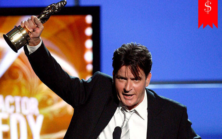 How much is charlie sheen net worth in 2018? Know about his career and awards