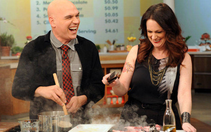 American Chef Michael Symon Love Affair With Wife Liz Shanahan Ignited In Kitchen, Happily Married