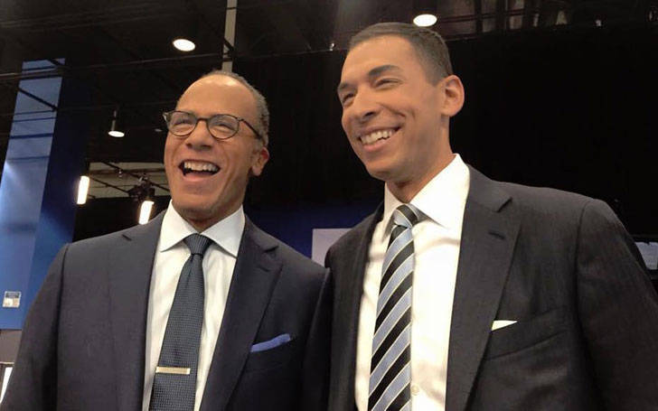 Lester Holt's Son's New Job At NBC, Know Lester's Married Life, Affairs, And Family