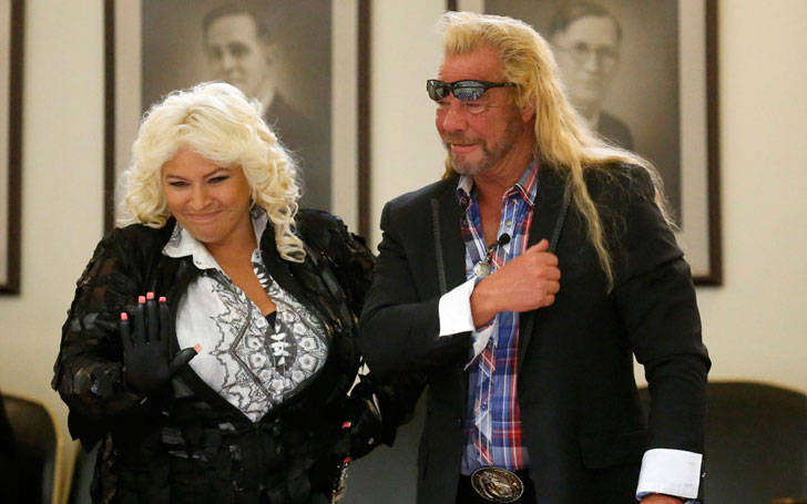 Beth chapman supports trump attends trump s inauguration for How many kids do dog and beth have