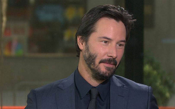 Actor Keanu Reeves Spotted With A mystery Woman, Is He No More Dating His Transgender Girlfriend?