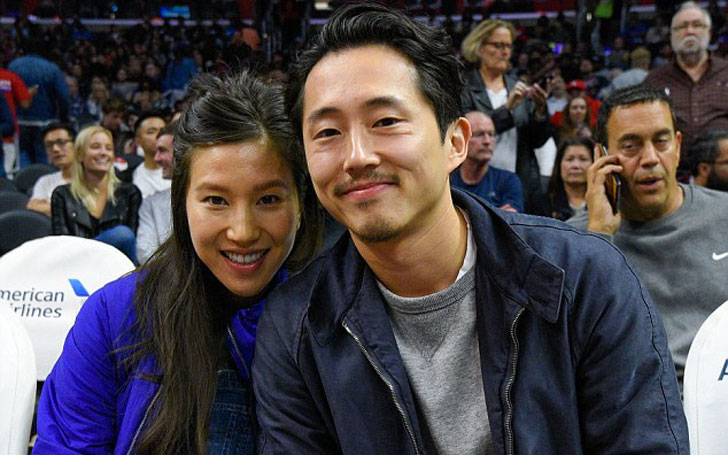 Walking Dead star Steven Yeun's Wife Pregnant, Take A look At Stars Wedding, Married To Girlfriend