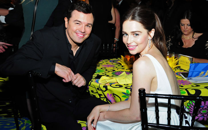 Family Guy Creator Seth Macfarlane With A Mystery Girl Ex