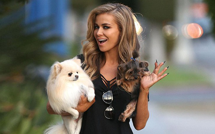 Carmen Electra wants to forget all the past relationships. Happy with new boyfriend.