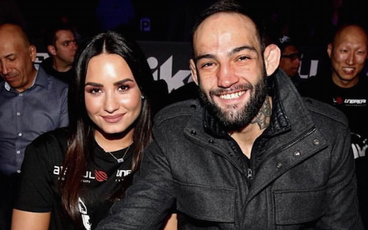 Demi Lovato confirms her relationship with fighter Guilherme Vasconcelos after spliting with Luke